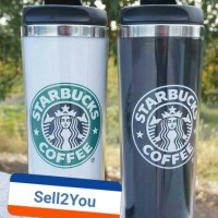 Tumbler Cups Starbucks Coffee 450 ML Mug My Bottle / Botol Minum