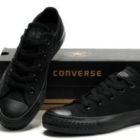 Sepatu Converse Mono Black + Box