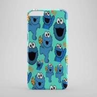 cookie monster cute Hard case Iphone case dan semua hp
