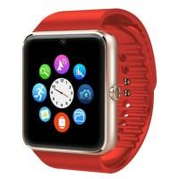 Jam tangan pintar smartphone android samsung GT08 smart watch gsm
