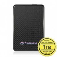 TRANSCEND EXTERNAL SSD ESD400 1TB PORTABLE USB3.0 HITAM GRS 2 TAHUN