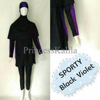 Baju Renang Muslimah Sulbi Sporty E3RZ
