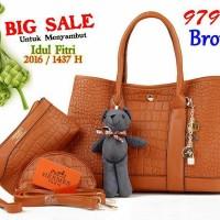 Tas Wanita SALE!! Hermes Garden Party Croco 9798  (BIG SALE)