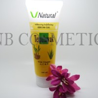 PEELING GEL SCRUB / SPA TEMULAWAK V Natural Exfoliating Serum Gel BPOM