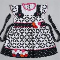 baju dress rok terusan anak bayi perempuan cewek kaos motif batik