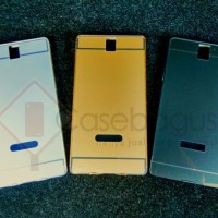 Coolpad Soar F101 Metal Bumper Hard Back Case Cover Casing
