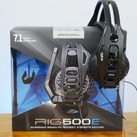 Jual Plantronics RIG 500E 7.1 Lightweight Gaming Headset Murah