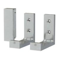 IKEA BJARNUM 3 Pcs Pengait Lipat Aluminium