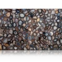 Natural Agate Semi Precious Stone Slab Marble Granite Marmer Batu Unik