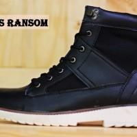 Sepatu Adidas Ransom Boots Black Pria Outdoors Adventure Kerja