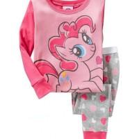 Baju Tidur Anak Tangan Panjang Murah Baby GAP H.K - Pink Pony