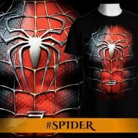 Jual Tshirt/Baju/Kaos Pria 3D Superhero Spiderman Murah