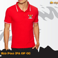 Jual Straw Hat Red Polo (Polo One Piece PA OP 01) Murah