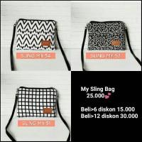 My Sling Bag Murah kekinian // Slingbag hitz promo sale!!