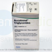 ACCUTREND Strip Trigliserida / Triglyceride Strip @25