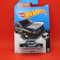 Hot Wheels Bmw 2002 Hitam (186|2016)