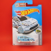 Hot Wheels '12 Ford Fiesta Biru (157|2016)