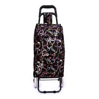 Jual Tas Trolley Belanja Fashion Lipat Praktis Roda 2 Murah
