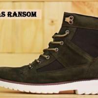 Sepatu Adidas Ransom Boots Green Pria Outdoors Adventure Kerja