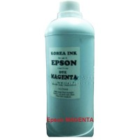 Tinta Printer Dye Korea Epson Magenta Asli Water & Uv Protection 1 Ltr