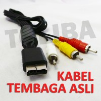 kabel ps / kabel av audio video ps1 ps2 ps3 ke rca