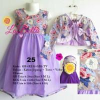 Baju Gamis Anak LaBella Usia 2-6 Tahun (REG3-TV-0625)