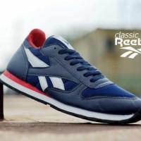 harga Sepatu Reebok Classic Nevy List Putih Merah Tokopedia.com