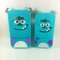 SAMSUNG J1 ACE 3D Cute Cartoon Sulley Case Soft Silicon Case