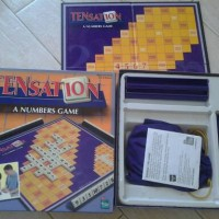 HASBRO Boardgame TENSATION, A NUMBER GAME