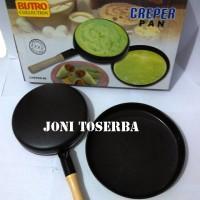 harga Creper Pan Bistro / Multi Creper Pan Bistro / Wajan Kwalik Bistro Tokopedia.com