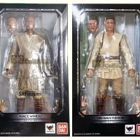 SHF Star Wars Set Of 2 : Mace Windu & Obi Wan Kenobi - MISB Ori