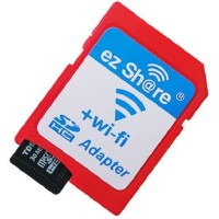 Mediatech Ez Share Wi-fi Micro Sd To Sd Card - Adaptor Merah