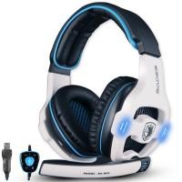 Headset Gaming SADES SA-903 7.1 Sound Effect USB