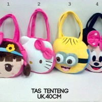 harga Tas Tenteng Anak Boneka Pretty Hello Kitty Minion Minnie Mouse Impor Tokopedia.com