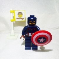 Lego Original Minifigure Captain America Age of Ultron