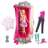 Barbie A Fashion Fairytale Glitterizer Playset ORI Mattel