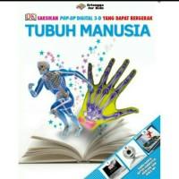 Buku Pop Up 3d Tubuh Manusia Cd Teknologi Animasi Bergerak