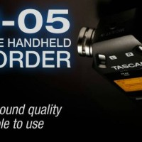 "Tascam ""DR-05 V.2"" Portable Handheld Recorder"