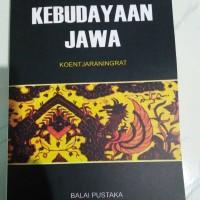 Kebudayaan Jawa - Koentjaraningrat