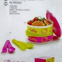 Meal Time Hello Kitty Tupperwear
