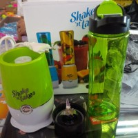 shake n take 3 (2 cup) green / blender n juicer