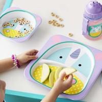 Skiphop skip hop mangkuk bayi anak mpasi zoo tableware