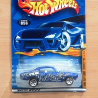 HOT WHEELS '70 CHEVELLE SS BLUE TURBO TAXI SERIES 2001 #056