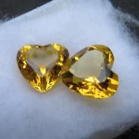 Batu Permata Citrine Cinta