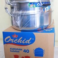 Kukusan / Kalakat / Alat Steamer Alumunium Diameter 40 Cm Ukuran Bes