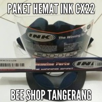 Busa Helm + Kaca Helm Ink Cx22, Cx 22 Original