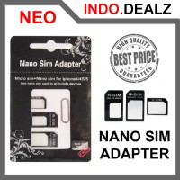 Neo 3 In 1 Nano Sim Card Adapter For Iphone 4 / 4 S / 5