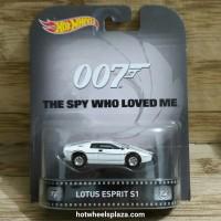 HOT WHEELS JAMES BOND 007 THE SPY WHO LOVED ME LOTUS ESPRIT S1