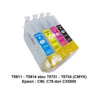 Mciss/Reffiliable Epson C79 - Tanpa Selang