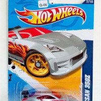Q-06 Hot Wheels Nissan 350Z Grey